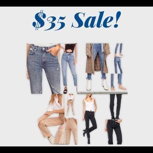 Free People Jeans NWOT sale this week only! $35
